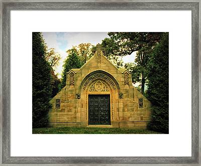 Dignity In Death Framed Print by Jessica Jenney