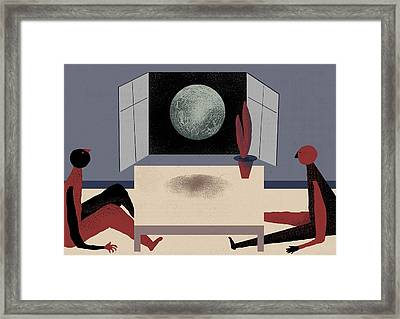 Digress Framed Print by Benjamin Gottwald