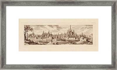 Dijon France 1761 Framed Print