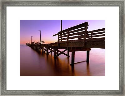 Framed Print featuring the photograph Dilapidated - Biloxi - Mississippi by Jason Politte