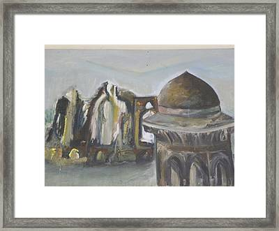 Dilapidated Castle Framed Print by Rajendra Yadev
