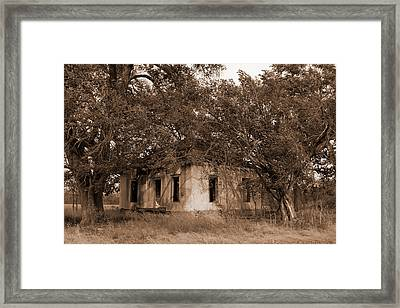 Dilapidated House Framed Print