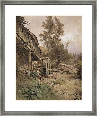 Dilapidated Mill Framed Print