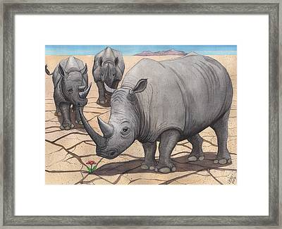 Dilemma Framed Print by Catherine G McElroy