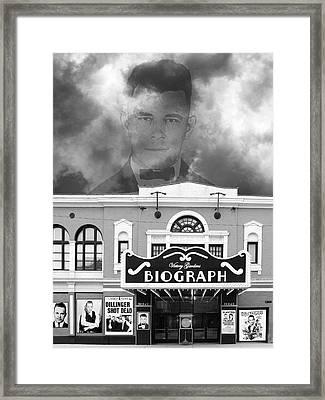 Dillinger Is Dead Biograph Theater  Framed Print