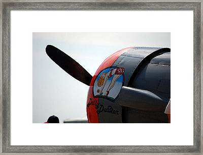 Dillydallier Framed Print by Jame Hayes
