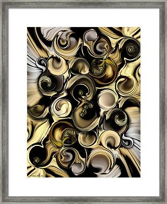 Dimension Vs Shape Framed Print