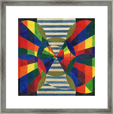 Dimensional Shifts Framed Print