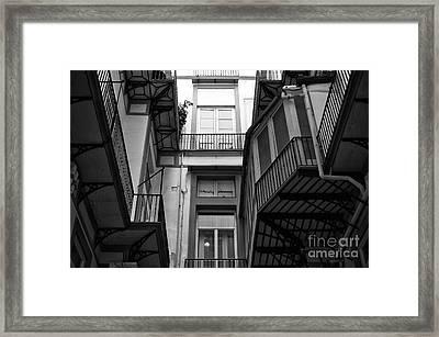 Dimensions In Naples Framed Print