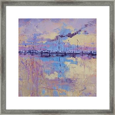 Dimensions  Framed Print by Laura Lee Zanghetti
