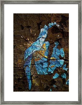 Diminishing Poppy Framed Print by Svetlana Sewell