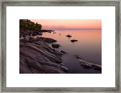 Dimming Of The Day Framed Print by Mary Amerman