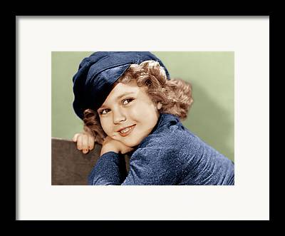 Shirley Temple Framed Prints