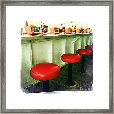 Diner Bar Framed Print