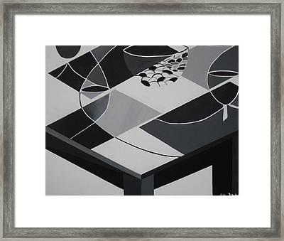 Dinette Framed Print by Katrice Kinlaw
