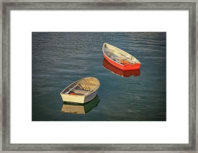 Dinghies Framed Print