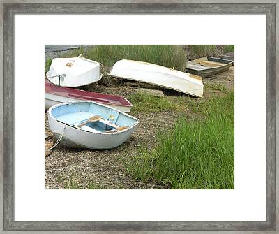 Dinghy Framed Print by Peter Williams