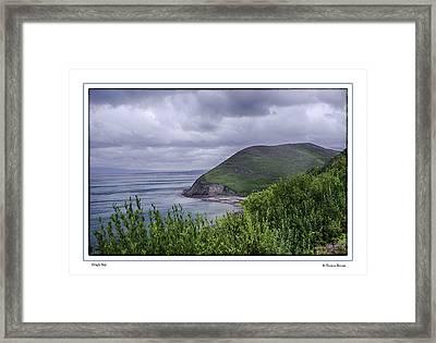Dingle Bay Framed Print by R Thomas Berner