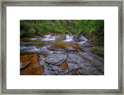 Dingmans Creek II Framed Print by Rick Berk