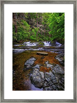 Dingmans Creek Framed Print by Rick Berk