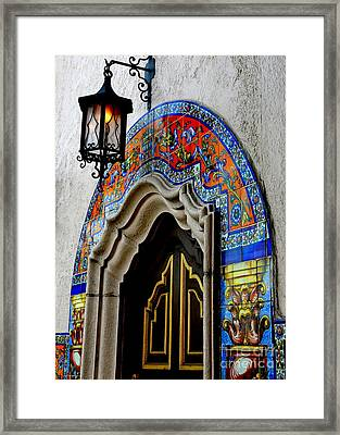 Dining At The Columbia Restaurant Framed Print by Carol Groenen