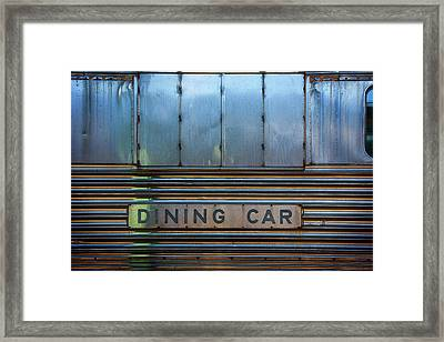 Dining Car Framed Print