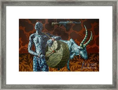 Dinka Boy Framed Print by Stephen Hall