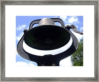 Dinner Bell Framed Print by Ali Dover