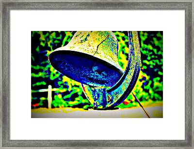 Dinner Bell Framed Print by Jill Tennison