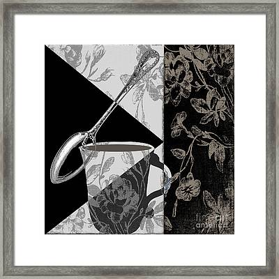 Dinner Conversation II Framed Print
