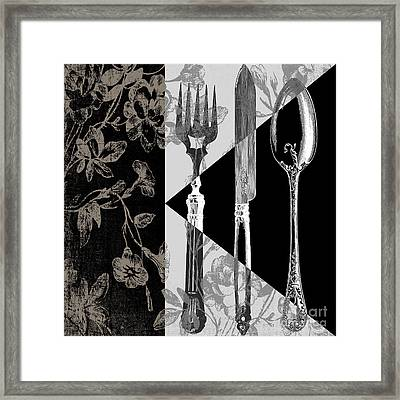 Dinner Conversation Framed Print