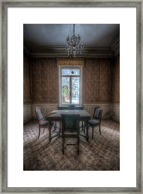 Dinner For 4 Framed Print