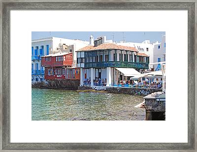 Dinner Is Served Framed Print by Armand Hebert