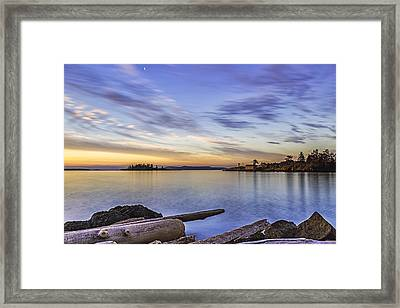 Dinner Island Framed Print by Thomas Ashcraft