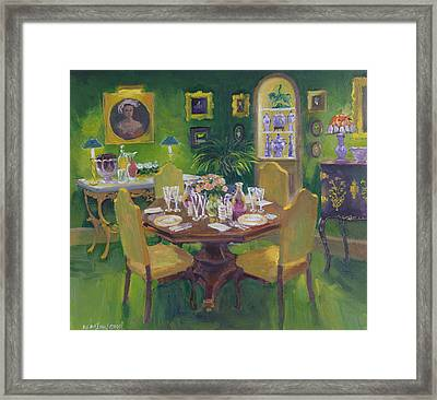 Dinner Party Framed Print