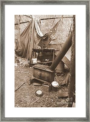 Framed Print featuring the photograph Dinner Will Have To Wait by Marie Neder