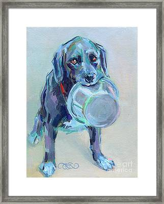 Dinnertime Dutchess Framed Print