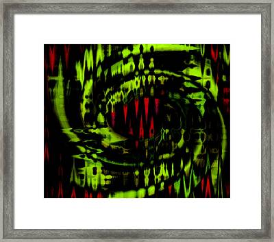 Framed Print featuring the photograph Dino by Cherie Duran