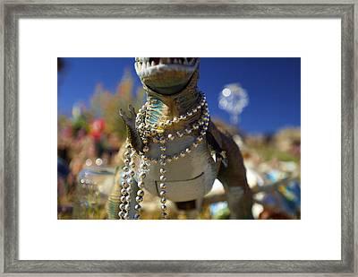 Dino Diva Framed Print by DRK Studios