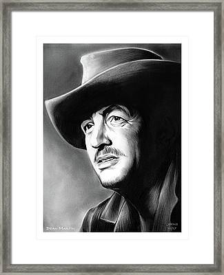 Dino The King Of Cool Framed Print