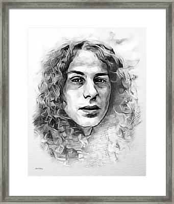 Dio Sketch Framed Print