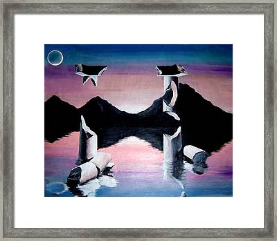 Diochotimies Framed Print by Randall Easterling