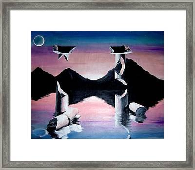 Diochotimies Framed Print by Randall Easterling