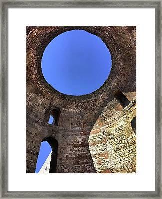 Diocletian Palace In Split, Croatia  Framed Print