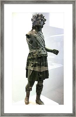 Dionysos Walking Framed Print by Andonis Katanos