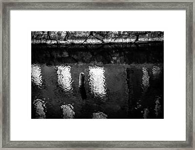 Dip Framed Print by Matti Ollikainen