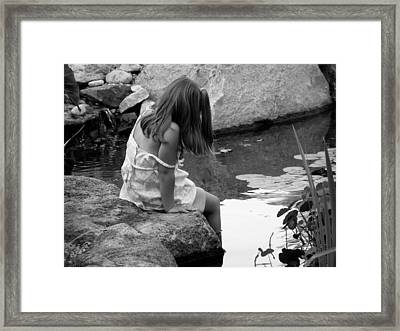 Dipped In Curiousity Framed Print