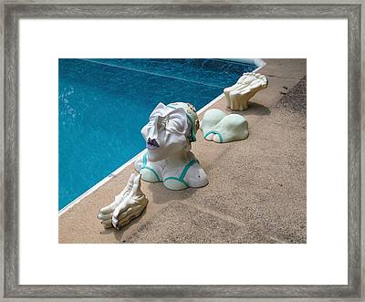 Dipping Dolly Framed Print by William Thomas