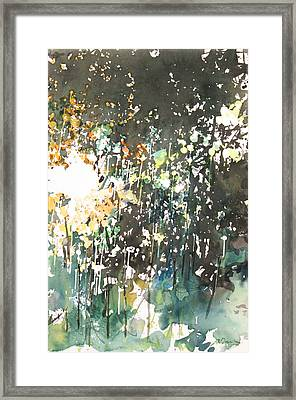 Diptych No.11 Right Framed Print