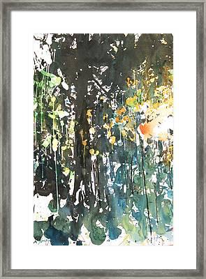 Diptych No11 Left Framed Print